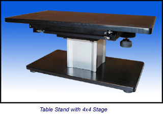 Table Stand with 4x4 Stage